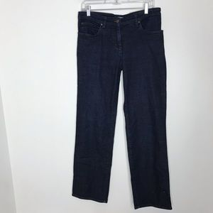 Eileen Fisher straight leg trouser jeans M